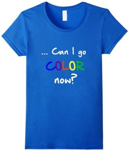 womens blue color on